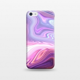 iPhone 5C  Purple Marble by Martina (abstract, texture, marble, geometric,pattern, pink, purple,nature,cool,pretty,modern, stylish, feminine, girlie, for her,illustration, graphic,design,original, unique)