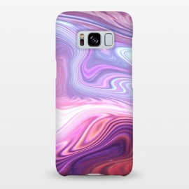 Galaxy S8+  Purple Marble by Martina