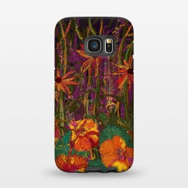 Galaxy S7  Autumn Flowers by Lotti Brown