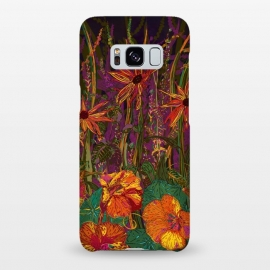 Galaxy S8+  Autumn Flowers by Lotti Brown