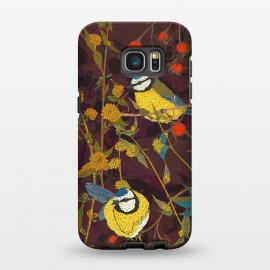 Galaxy S7 EDGE  Blue Tits by Lotti Brown