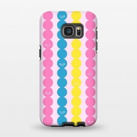 Galaxy S7 EDGE  Colorful Stripes by Michael Cheung