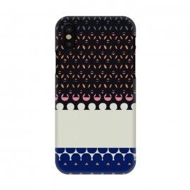 iPhone X  Geostripe by Susanna Nousiainen (stripes,geo,geostripe)