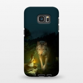 Galaxy S7 EDGE  The Wolf by Riza Peker