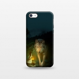 iPhone 5C  The Wolf by Riza Peker