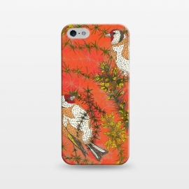 iPhone 5/5E/5s  Goldfinch in Gorse by Lotti Brown