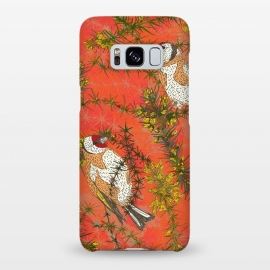 Galaxy S8+  Goldfinch in Gorse by Lotti Brown
