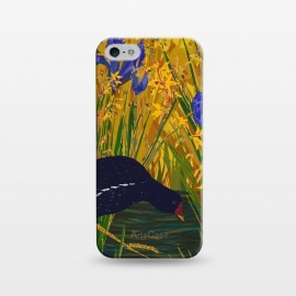 iPhone 5/5E/5s  Moorhen and Iris by Lotti Brown