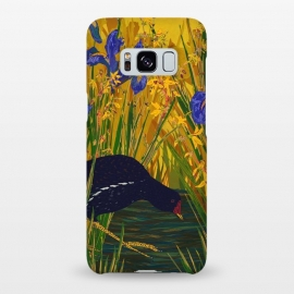 Galaxy S8+  Moorhen and Iris by Lotti Brown