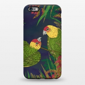 iPhone 6/6s plus  Parakeets in Paradise by Lotti Brown