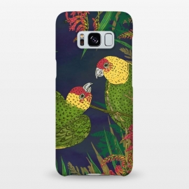 Galaxy S8+  Parakeets in Paradise by Lotti Brown