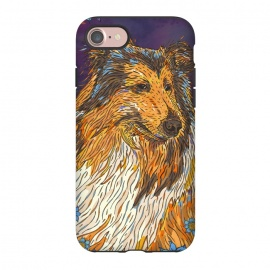 iPhone 8/7  Rough Collie by Lotti Brown
