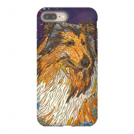 iPhone 8/7 plus  Rough Collie by Lotti Brown