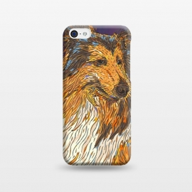 iPhone 5C  Rough Collie by Lotti Brown