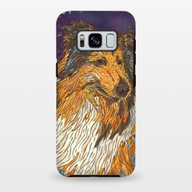 Galaxy S8+  Rough Collie by Lotti Brown
