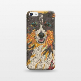 iPhone 5C  Border Collie by Lotti Brown