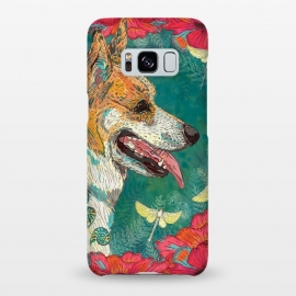 Galaxy S8+  Corgi and Fairies by Lotti Brown