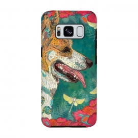 Galaxy S8  Corgi and Fairies by Lotti Brown
