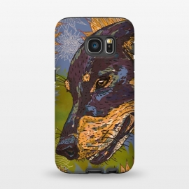 Galaxy S7  Dachshund by Lotti Brown