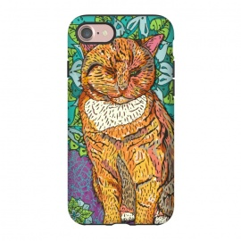 iPhone 8/7  Mandala Cat by Lotti Brown