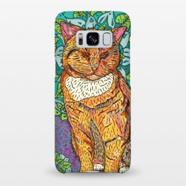 Galaxy S8+  Mandala Cat by Lotti Brown