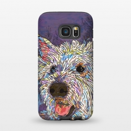 Galaxy S7  West Highland Terrier (Westie) by Lotti Brown