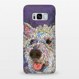 Galaxy S8+  West Highland Terrier (Westie) by Lotti Brown