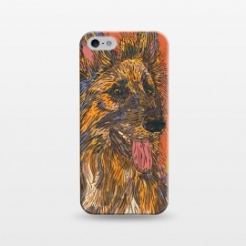 iPhone 5/5E/5s  German Shepherd Dog by Lotti Brown