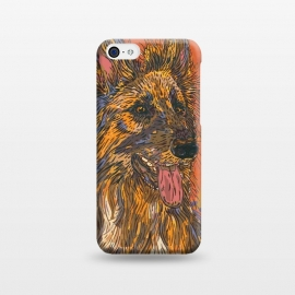 iPhone 5C  German Shepherd Dog by Lotti Brown