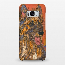 Galaxy S8+  German Shepherd Dog by Lotti Brown