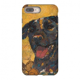 iPhone 8/7 plus  Black Labrador by Lotti Brown