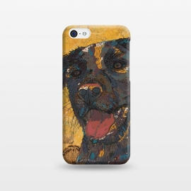 iPhone 5C  Black Labrador by Lotti Brown
