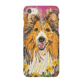 iPhone 8/7  Shetland Sheepdog (Sheltie) by Lotti Brown