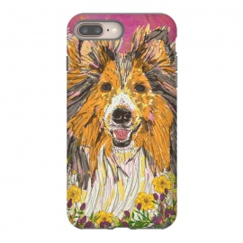 Shetland Sheepdog (Sheltie) by Lotti Brown
