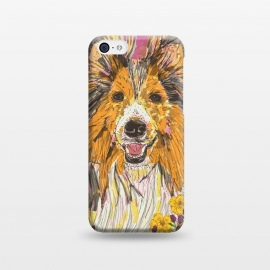 iPhone 5C  Shetland Sheepdog (Sheltie) by Lotti Brown