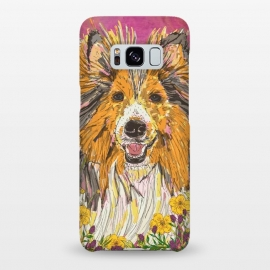 Galaxy S8+  Shetland Sheepdog (Sheltie) by Lotti Brown