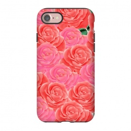 iPhone 8/7  Roses by allgirls (rose,roses,pink,red,bloom,blossom,elegant,beautiful,pretty,pattern,seamless,flowers,flower,floral,garden,paradise,romantic,love,girlfriend,wreath)