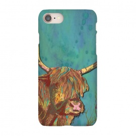 iPhone 8/7  Highland Cow by Lotti Brown