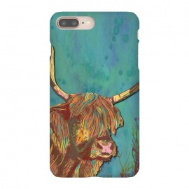 iPhone 8/7 plus  Highland Cow by Lotti Brown