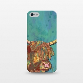 iPhone 5/5E/5s  Highland Cow by Lotti Brown