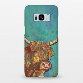 Galaxy S8+  Highland Cow by Lotti Brown