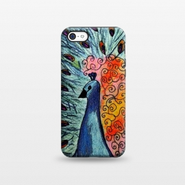 iPhone 5C  Blue Peacock by Allgirls