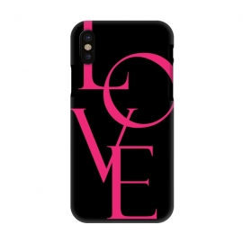 iPhone X  LOVE by allgirls