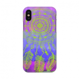 iPhone Xs/X  Dreamcatcher by Susanna Nousiainen (dreamcatcher,boho,hippie,festival)