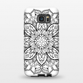 Galaxy S7 EDGE  Blackmandala by Susanna Nousiainen