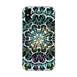 iPhone Xs/X  Brightmandala II by Susanna Nousiainen (boho,madala,hippie,festival,decorative)