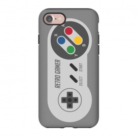 iPhone 8/7  Retro Gamer Serie I by Dellán (gamer,video game,retro,vintage,80´s,90´s,classic,hipster,geek,nerd,computer,tech,8 bit)