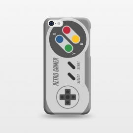 iPhone 5C  Retro Gamer Serie I by Dellán (gamer,video game,retro,vintage,80´s,90´s,classic,hipster,geek,nerd,computer,tech,8 bit)