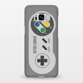 Galaxy S8+  Retro Gamer Serie I by Dellán (gamer,video game,retro,vintage,80´s,90´s,classic,hipster,geek,nerd,computer,tech,8 bit)