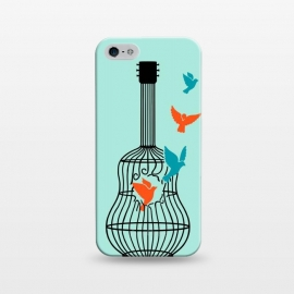 iPhone 5/5E/5s  freedom music green by Coffee Man